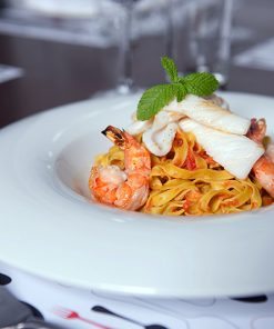 Pasta scampi - Take a way Bar Proef Dendermonde