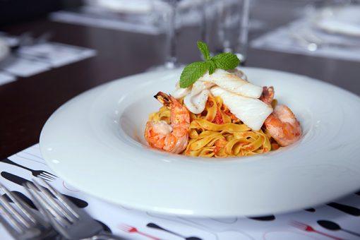 Pasta scampi - Take a way Bar Proef Dendermonde